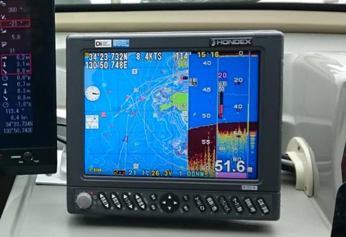 GPS 2周波デジタル魚探