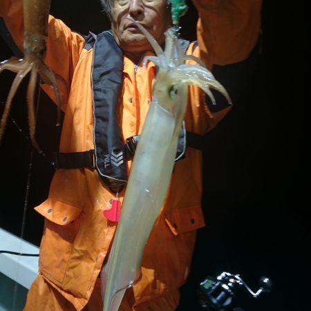 6月27日 イカ釣り 小潮
