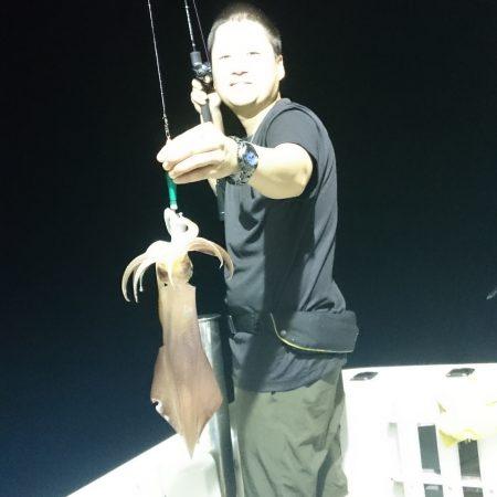 8月13日(木曜日) イカ釣り 長潮