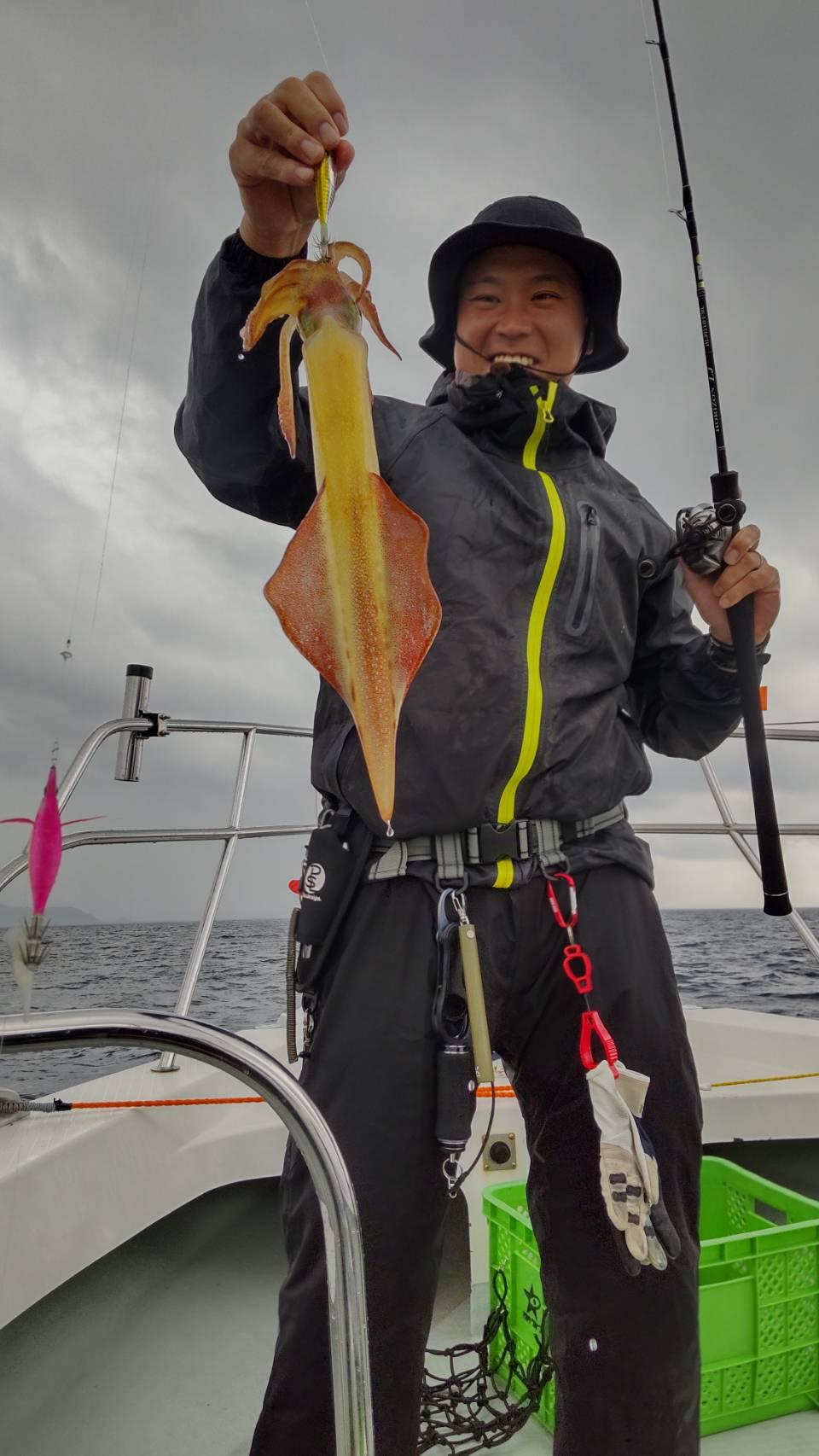 5月16日(日曜日)中潮 昼イカ釣り釣果