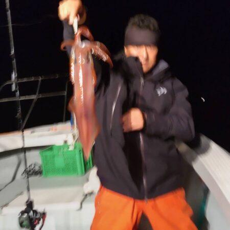 7月2日(金曜日)小潮 夜焚きイカ釣り釣
