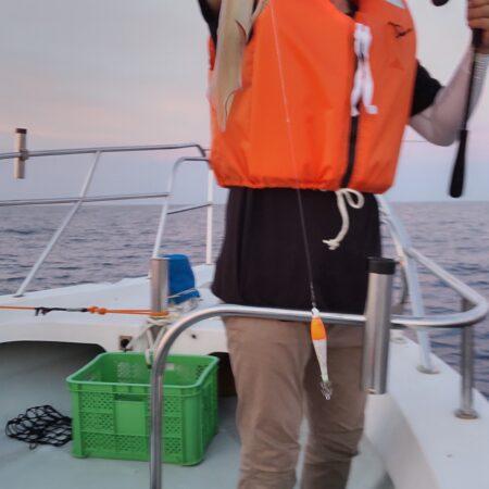 7月22日(木曜日)中潮 イカ釣り釣果
